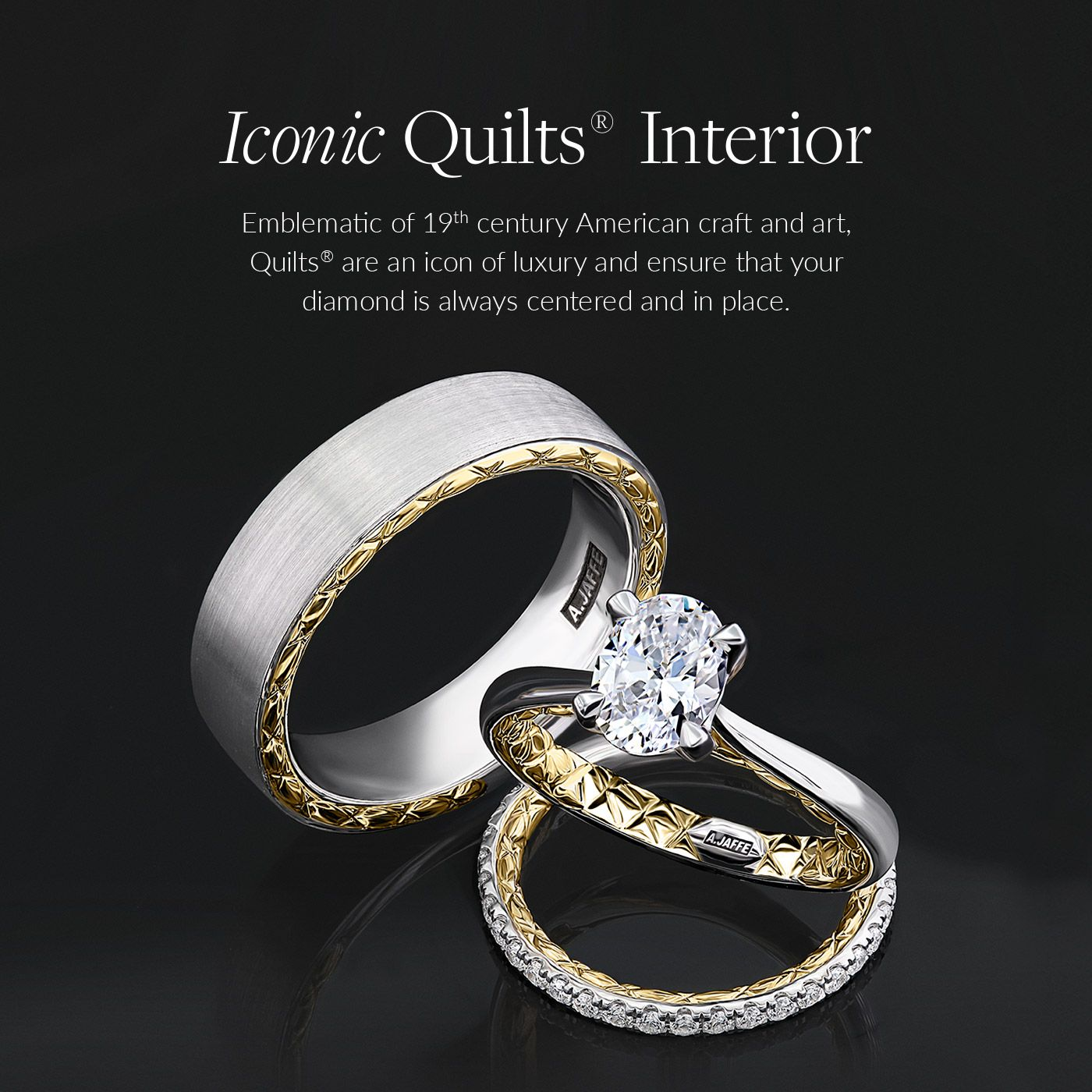 A Jaffe Designer Engagement Rings Wedding Bands Fine Jewelry